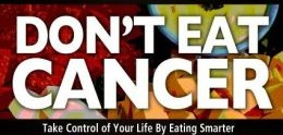 dont eat cancer banner